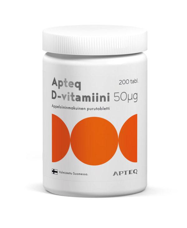 048 D-vitamiini_50mcg_200tabl